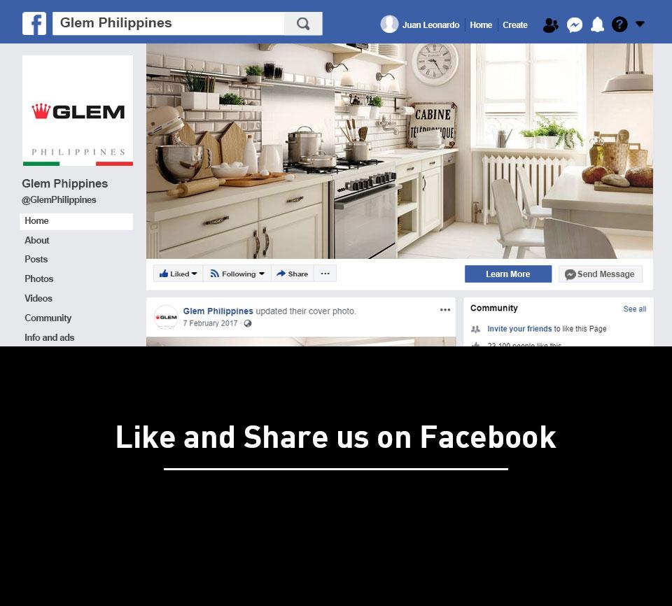 Glem Facebook Page
